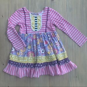 Jelly the Pug | Kali Plum Princess Knit Dress